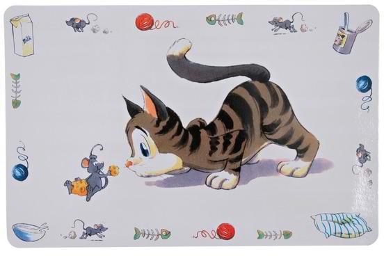 SALVAMANTELES COMIC CAT