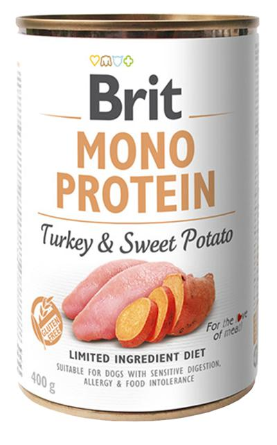 BRIT MONO PROTEIN TURKEY & SWEET POTATO 400 GR