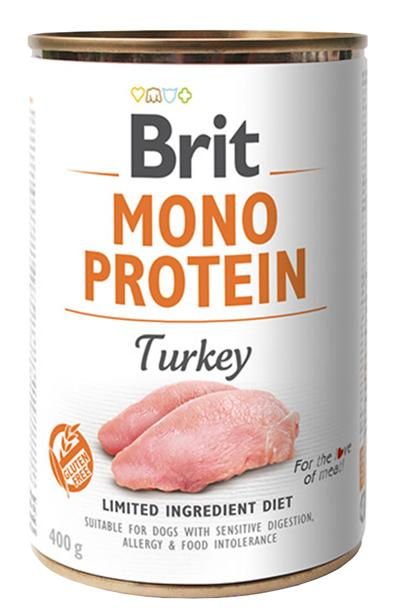 BRIT MONO PROTEIN TURKEY 400 GR