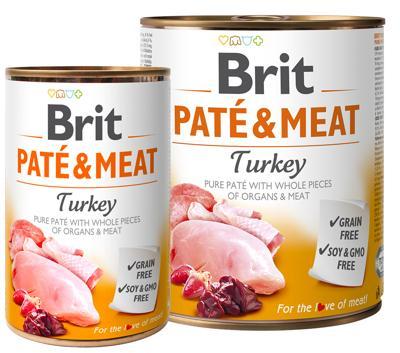 BRIT PATÉ & TURKEY 400 GR