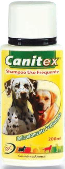 CANITEX SHAMPOO USO FREQUENTE