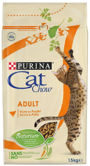 CAT CHOW ADULTO POLLO 15 KG