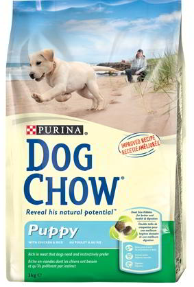 DOG CHOW PUPPY POLLO 14KG