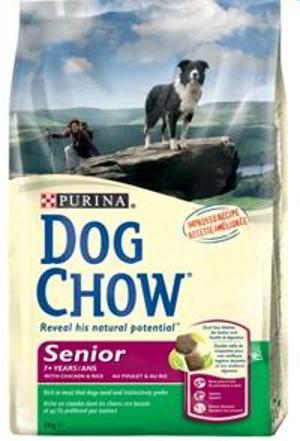 DOG CHOW SENIOR POLLO 15 KG