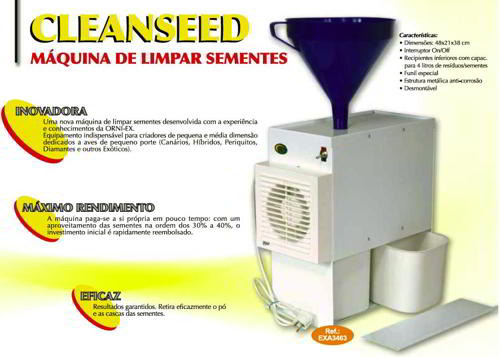 MÁQ. LIMPIA SEMILLAS CLEANSEED