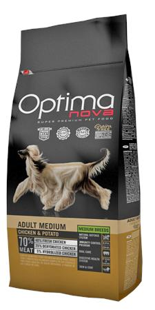 OPTIMA NOVA MEDIUM POLLO & PATATA 12 KG