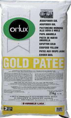ORLUX PROFI GOLD PATEE CANÁRIOS 25 KG