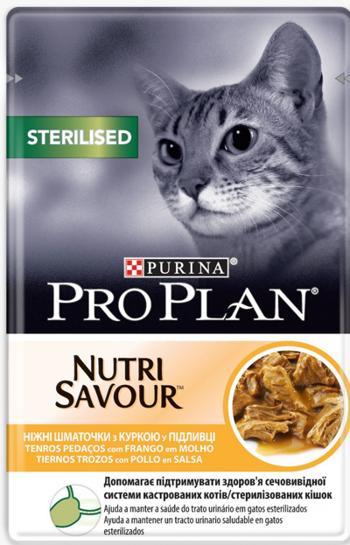 PRO PLAN NUTRISAVOUR POLLO FRANGO 85 GR
