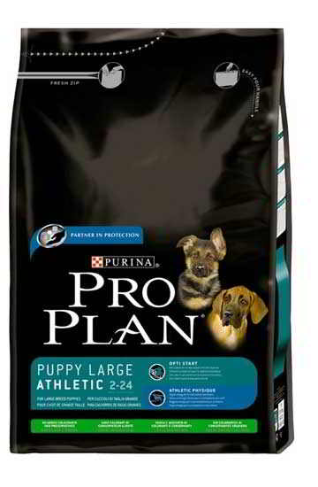 PRO PLAN PUPPY LARGE ATHLETIC CORDEIRO 14 KG