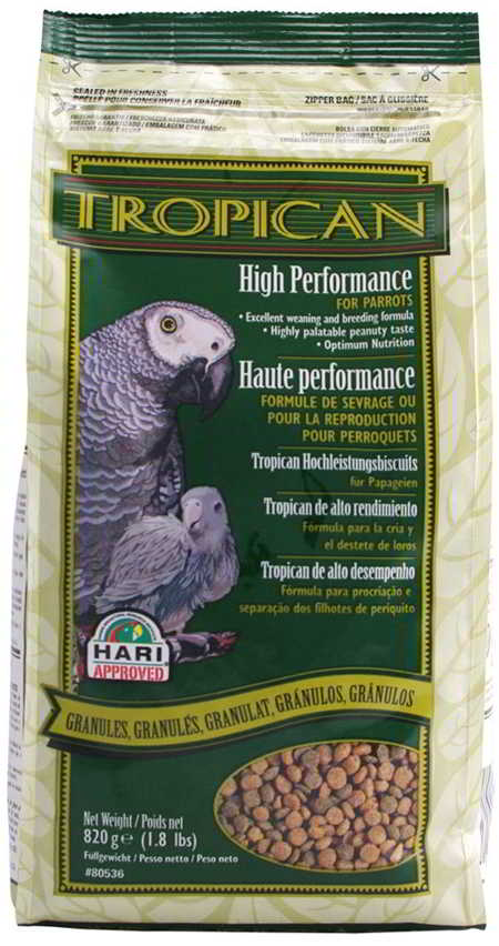 TROPICAN LOROS ALTA PERFORMANCE