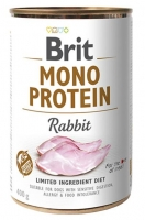 BRIT MONO PROTEIN RABBIT 400 GR