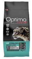 OPTIMA NOVA GATO STERILISED 8 KG